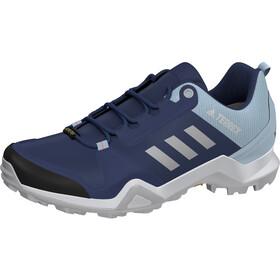 adidas TERREX AX3 Gore-Tex Hiking Shoes Waterproof Women, tech indigo/grey two/signal coral